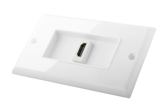 LINK-MI LM-EW07 White Best Single Port HDMI Female Outlet Wholesale Price In China