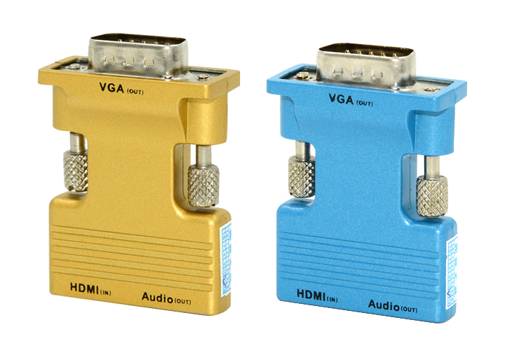 LINK-MI LM-HV04 HDMI Female to VGA Male Converter With Audio