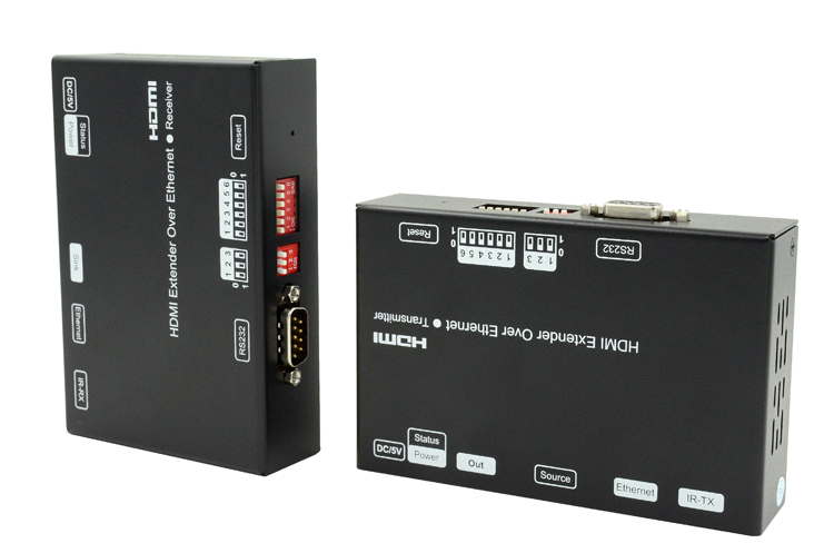 LINK-MI LM-EX24 120m HDMI Extender over IP with H.264 encoder
