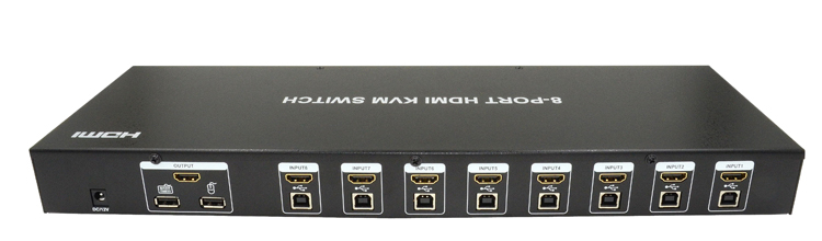 LINK-MI LINK-MI OEM LM-KVM801 1920*1440 8-port HDMI KVM Switch with USB