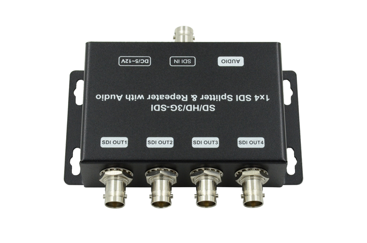 LINK-MI LM-SDI-104 SD/HD/3G-SDI 1 to 4 Distribution Amplifier & Repeater with audio
