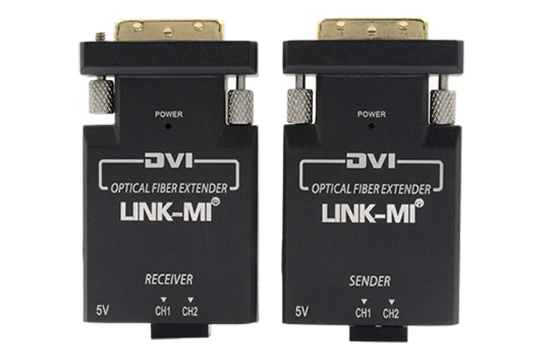 LINK-MI LM-DF01 2xLC Optic DVI Detachable Extension Module