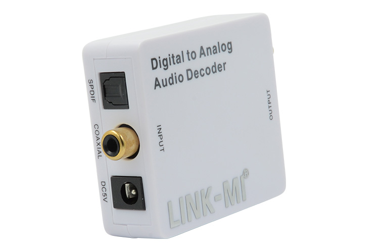 LINK-MI LM-DA01-DC Digital to Analog Audio Decoder