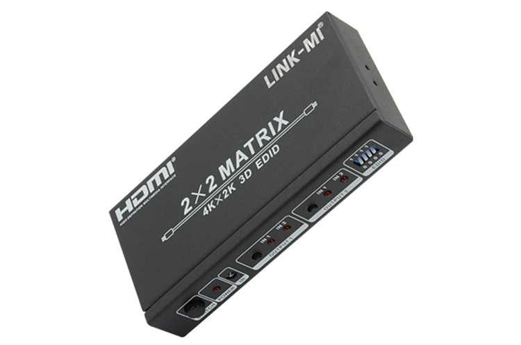 LINK-MI LM-MX22 HDMI Matrix 2 x 2 with EDID Control