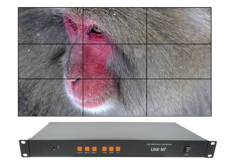 LINK-MI LM-TV09-4K2K 4K video wall controller