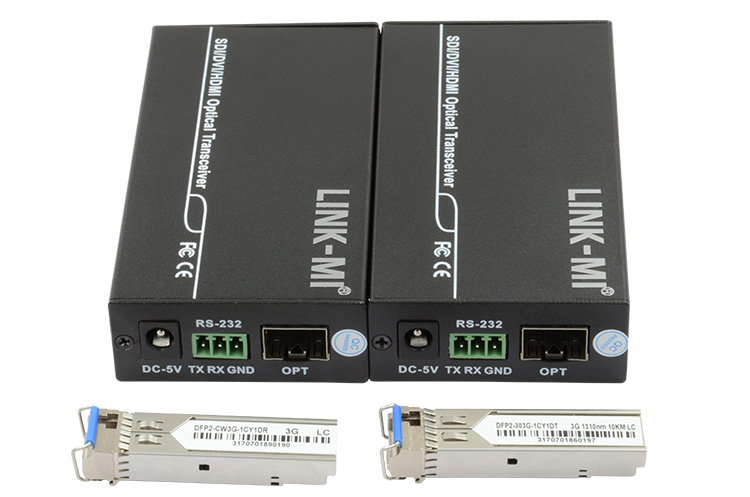 LINK-MI LM-HF01 Full HD Optical transmitter and receiver