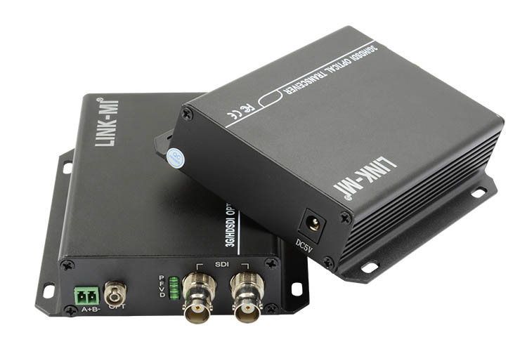 LINK-MI LM-SF01 HD-SDI Unidirectional Fiber Optic Transmitter/Receiver