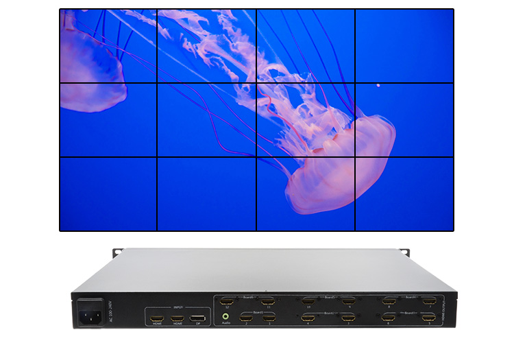 LINK-MI LM-TV12-4K2K 4K 4x3 video wall controller