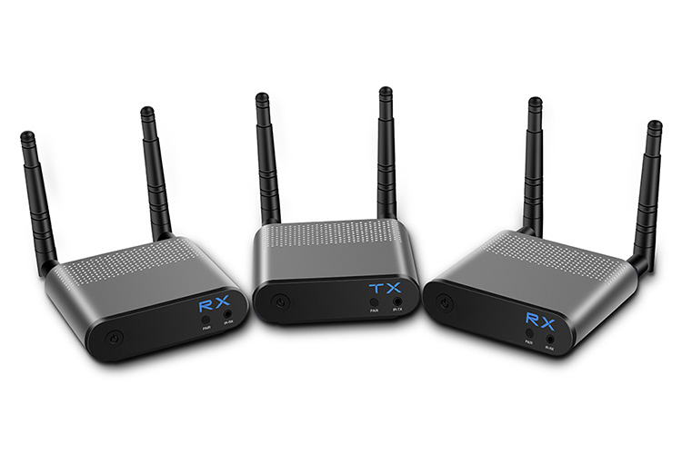 LINK-MI LM-WH100B-2 1080P 3D Wireless HDMI Extender