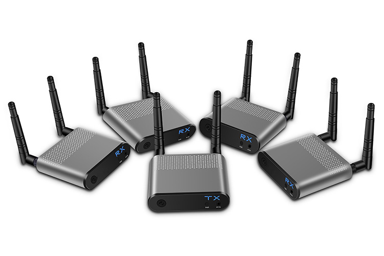 LINK-MI LM-WH100B-4 1080P 3D Wireless HDMI Extender